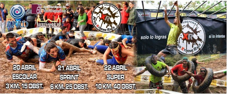 cartel afad xtreme race (Copiar)