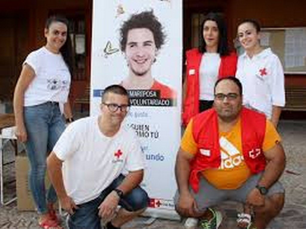 Cruz Roja voluntarios La Solana