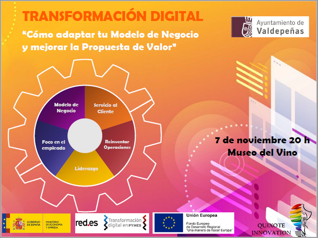 Quixote Innovation organiza una jornada de transformación digital