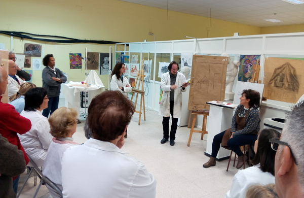 Los Talleres 'Daniel de Campos' realizan su exposición fin de curso de manera virtual